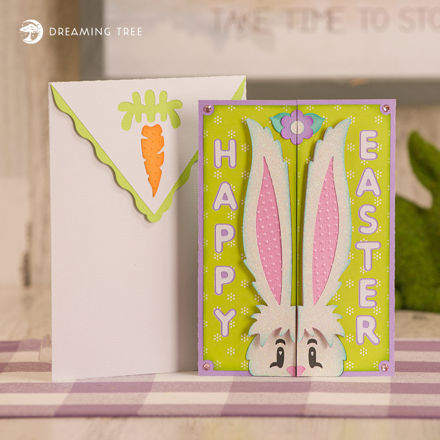 Picture of Some Bunny Gatefold Card SVG