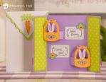 Happy Easter Bunny Gatefold Card