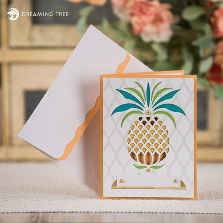 Picture of Pineapple Card SVG