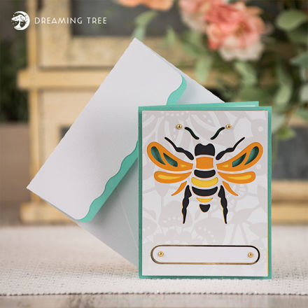 Picture of Bumblebee Card SVG