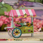 Picture of Flower Cart SVG