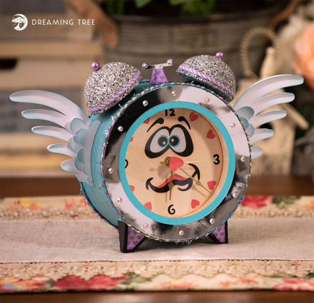 Picture of Sweet Dreams Clock SVG