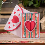 Picture of Hearts Pop Up Card SVG