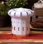 Chef Hat Cookie Jar SVG