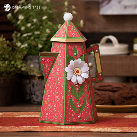 Vintage Coffee Pot Gift Box