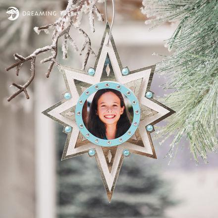 Star Photo Ornament (Free SVG)