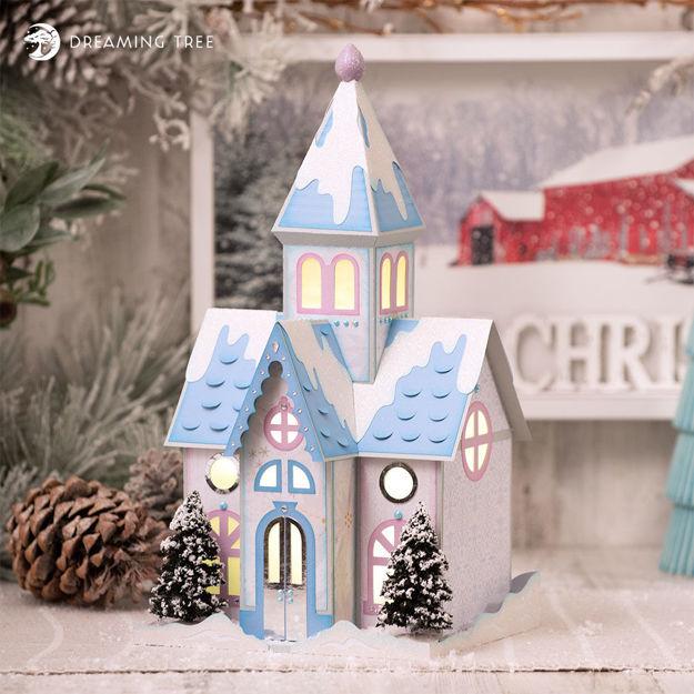 White Christmas Church