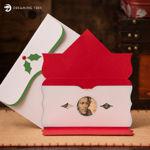 Holly Cash & Gift Card Holder (Free SVG)