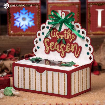 Christmas Sweets Box SVG