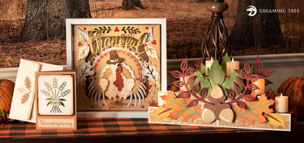 Fall Autumn Thankful SVG Bundle