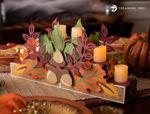 Fall Tealight Candlescape