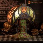 Crescent Moon Halloween Lamp