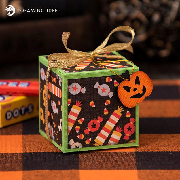 Candy Treats Box (Free SVG)