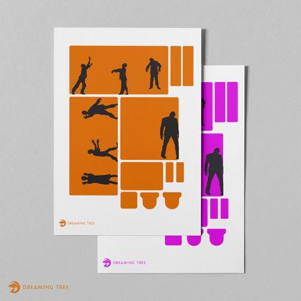 Zombies (Printable Vellum)
