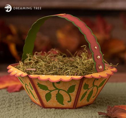 Autumn Gift Basket SVG