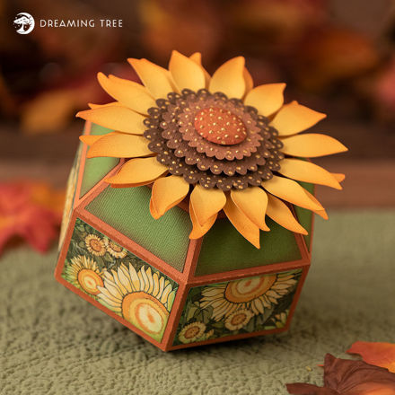 Autumn Sunflower Gift Box
