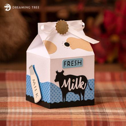 Milk Treat Box (Free SVG)