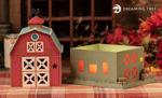 Red Barn Luminary