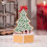 Christmas Tree Pop Up Card SVG