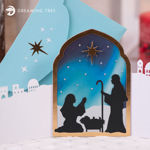 Picture of Nativity Card SVG