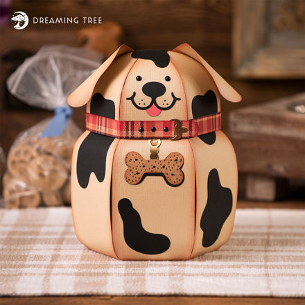 Bow-Wow Cookie Jar SVG