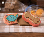 Fish and Bone Treat Boxes SVG