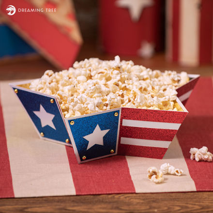 Picture of Stars & Stripes Bowl SVG