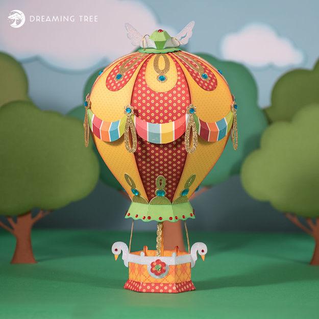 Beautiful Balloon SVG