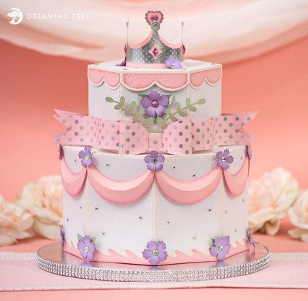 Princess Cake Box