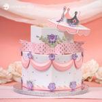 Princess Party Cake Gift Box