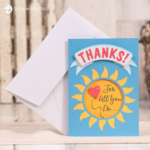 Service Worker Thanks Card (Free SVG)