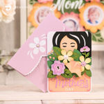 Mother's Day Bouquet Card SVG