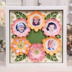 Love You Mom Paper Sculpture Photo Holder