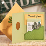 Bloom & Grow Card (Free SVG)