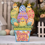 Happy Easter Lil Peeps Bouquet With Easter Eggs