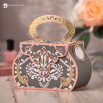 Picture of Delightful Damask Bag SVG