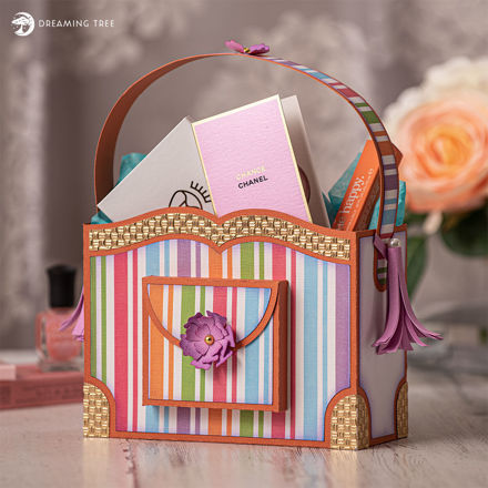 Picture of Simply Stripes Bag SVG