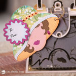 Lady With Hat Gift Tag