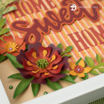 Picture of Sweet Home Paper Sculpture SVG