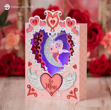 Picture of Be Mine Paperscape SVG