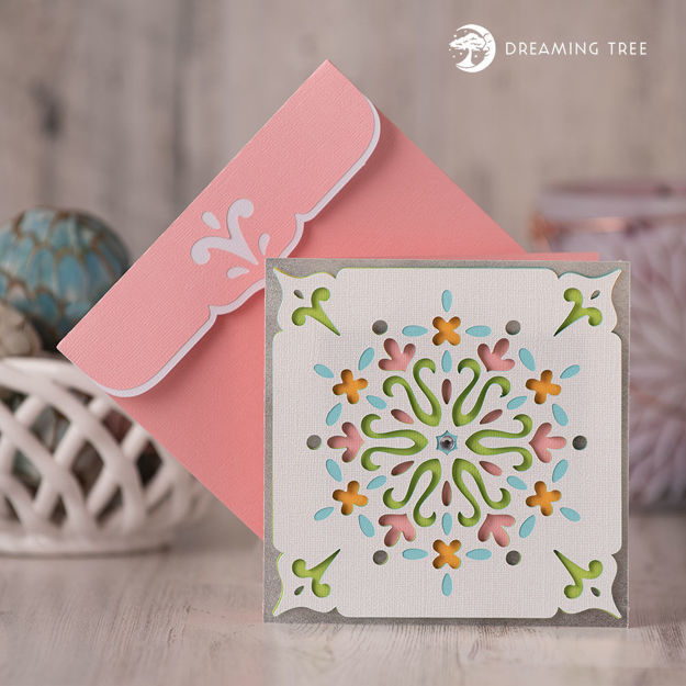 Picture of Spring Card SVG