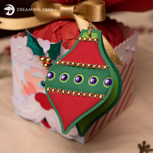 Ornament Gift Tag (Free SVG)