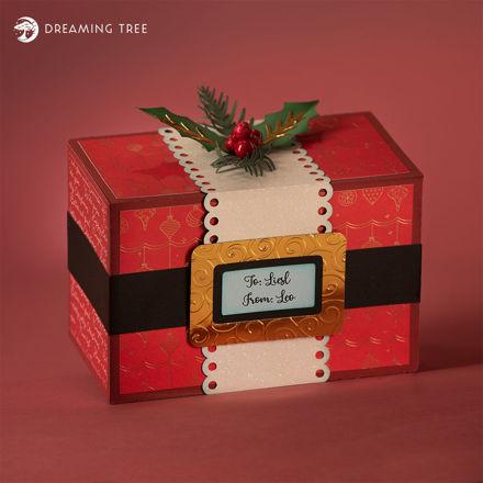 Picture of Ho, Ho, Ho Gift Box SVG