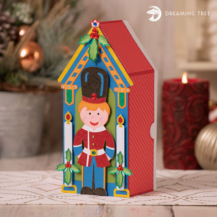 Christmas Toy Soldier Gift Box