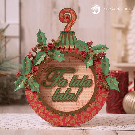 Ornament Wreath SVG