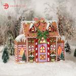 Gingerbread House Luminary