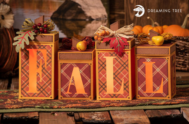 Picture of Fall Centerpiece Light Up SVG