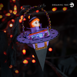 Halloween Witch Hat Treat Cone