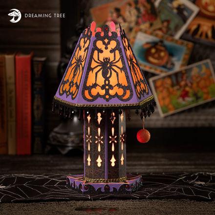Halloween Spider Lamp