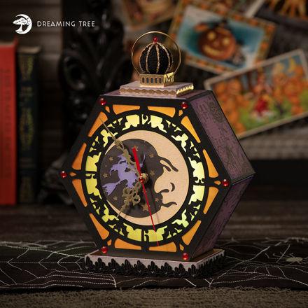 Moonlight Clock SVG
